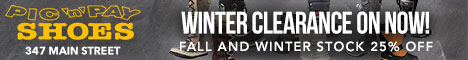banner winter clearance photo